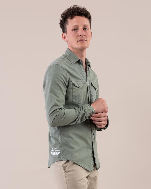 Koszula Dondup UC220_GS0041U_602 zielony