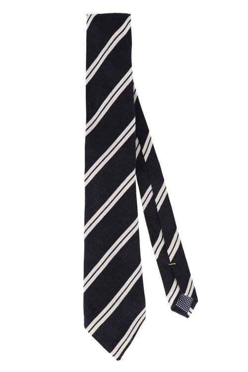 Krawat Eton A000_22140_19 Granatowy Eton A000_22140_19 granatowy