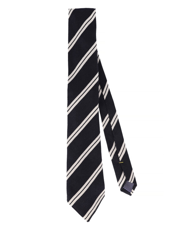 Krawat Eton A000_22140_19 granatowy