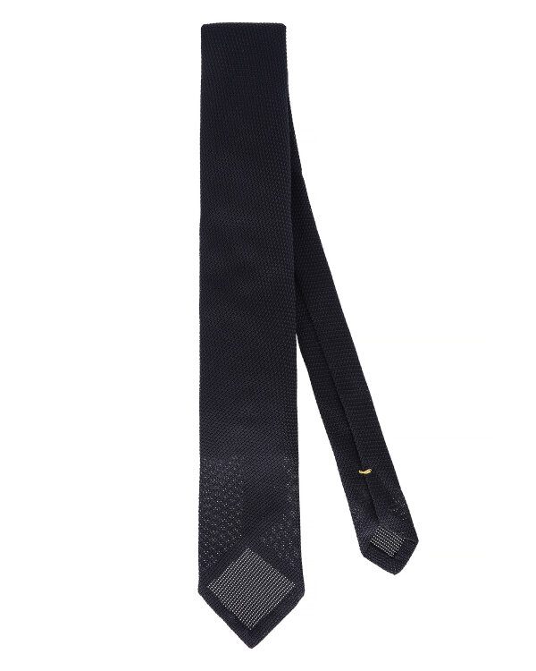 Krawat Eton A000_26175_28 granatowy