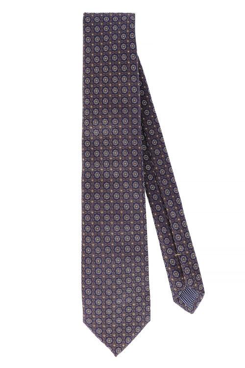Krawat Eton A000_27041_23 Brązowy Eton A000_27041_23 brązowy