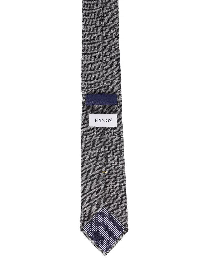Krawat Eton A000_27084_15 szary - fot:2
