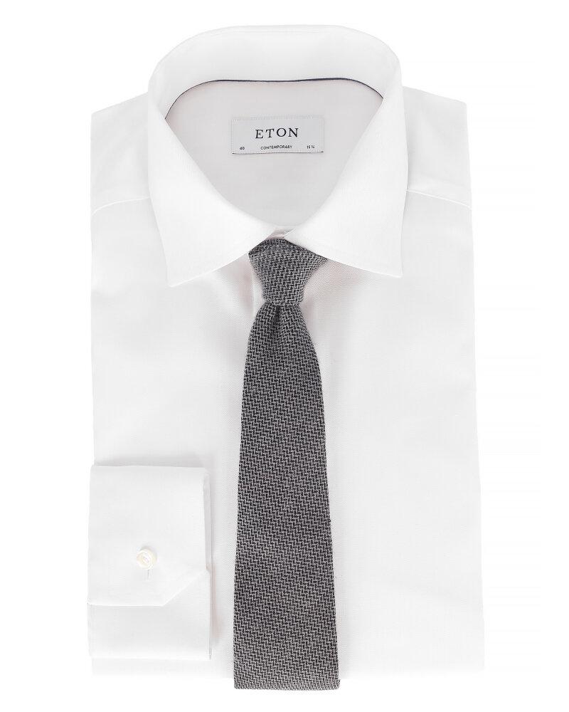 Krawat Eton A000_27084_15 szary - fot:3