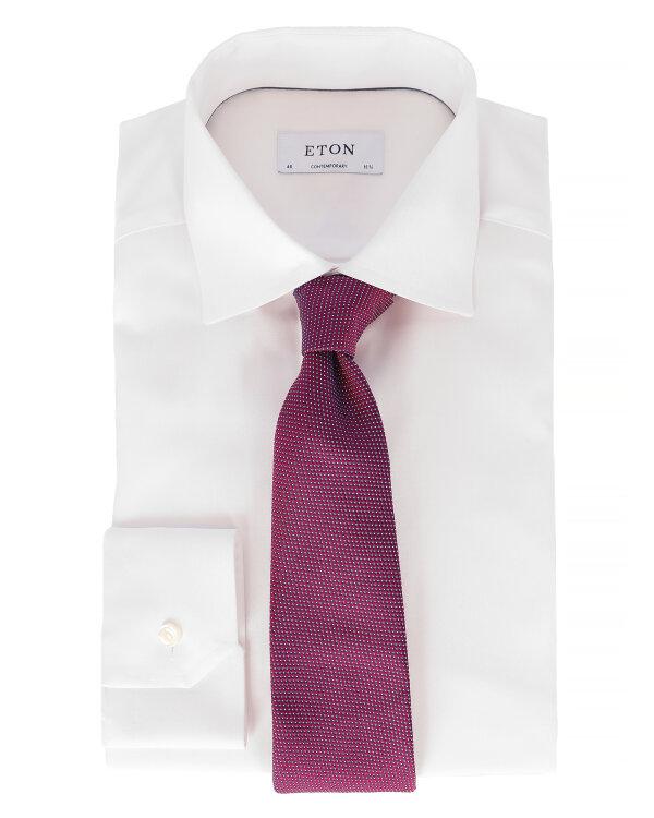 Krawat Eton A000_27777_57 fioletowy