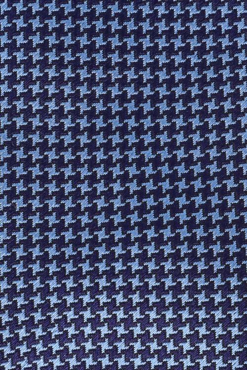 Krawat Eton A000_28070_23 granatowy