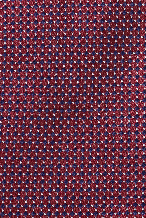 Krawat Eton A000_29050_59 granatowy