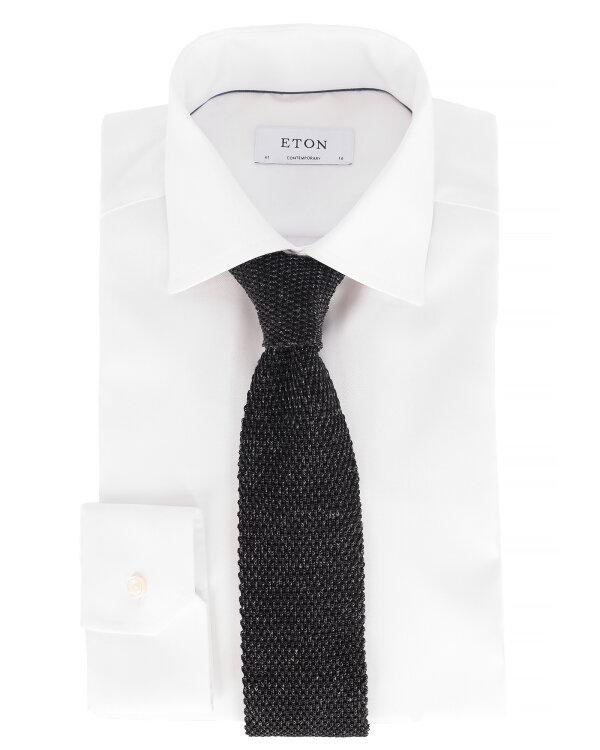 Krawat Eton A000_30022_19 ciemnoszary