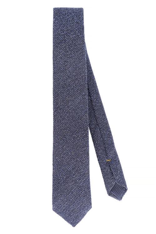 Krawat Eton A000_30459_27 Granatowy Eton A000_30459_27 granatowy