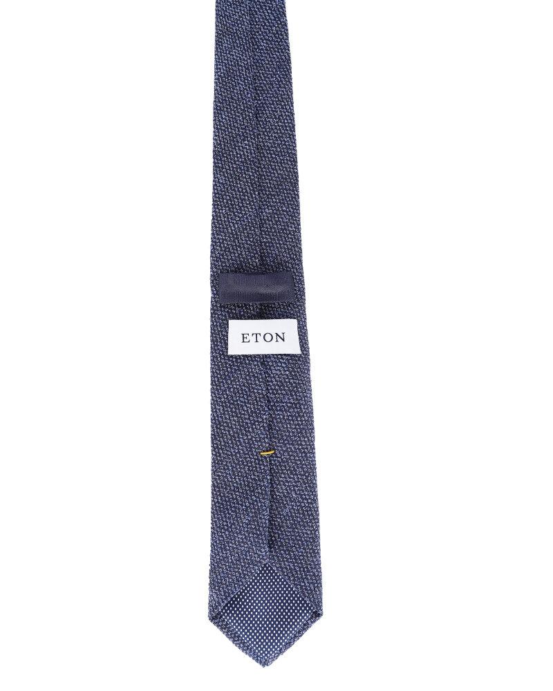 Krawat Eton A000_30459_27 granatowy - fot:2