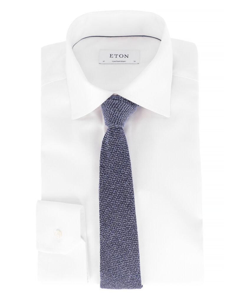 Krawat Eton A000_30459_27 granatowy - fot:3