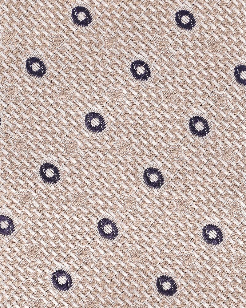 Krawat Eton A000_30460_35 beżowy - fot:1