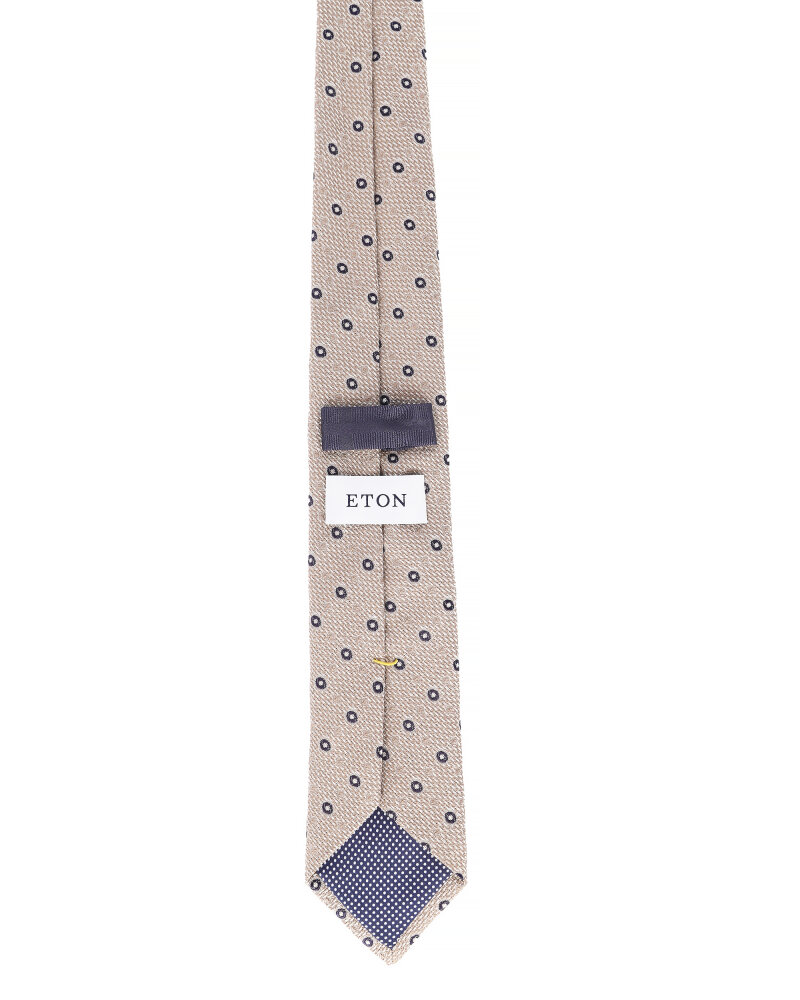Krawat Eton A000_30460_35 beżowy - fot:2