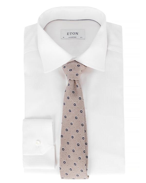 Krawat Eton A000_30460_35 beżowy