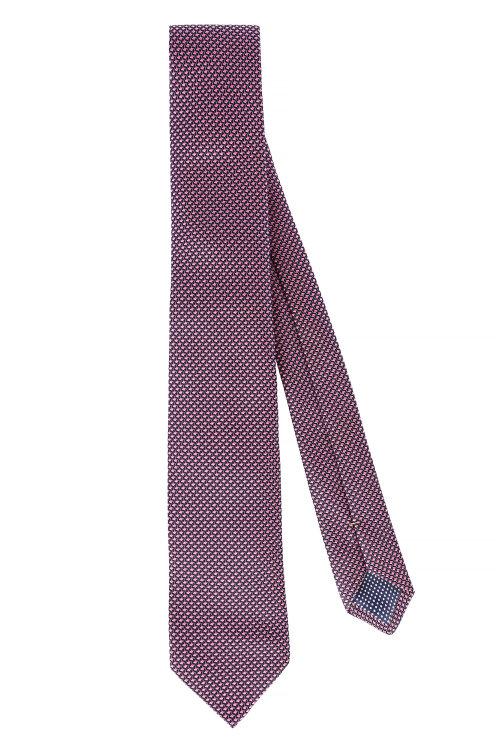 Krawat Eton A000_30212_55 różowy