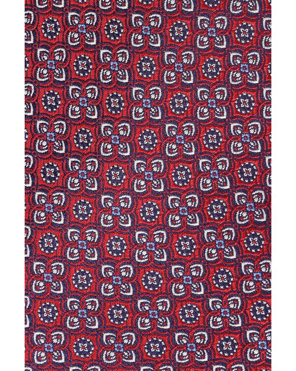 Krawat Eton A000_30754_57 bordowy