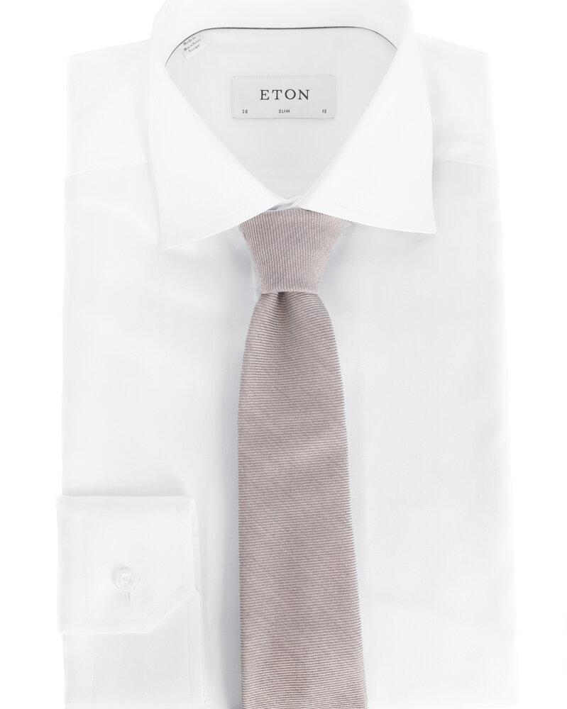 Krawat Eton A000_30765_13 beżowy - fot:3