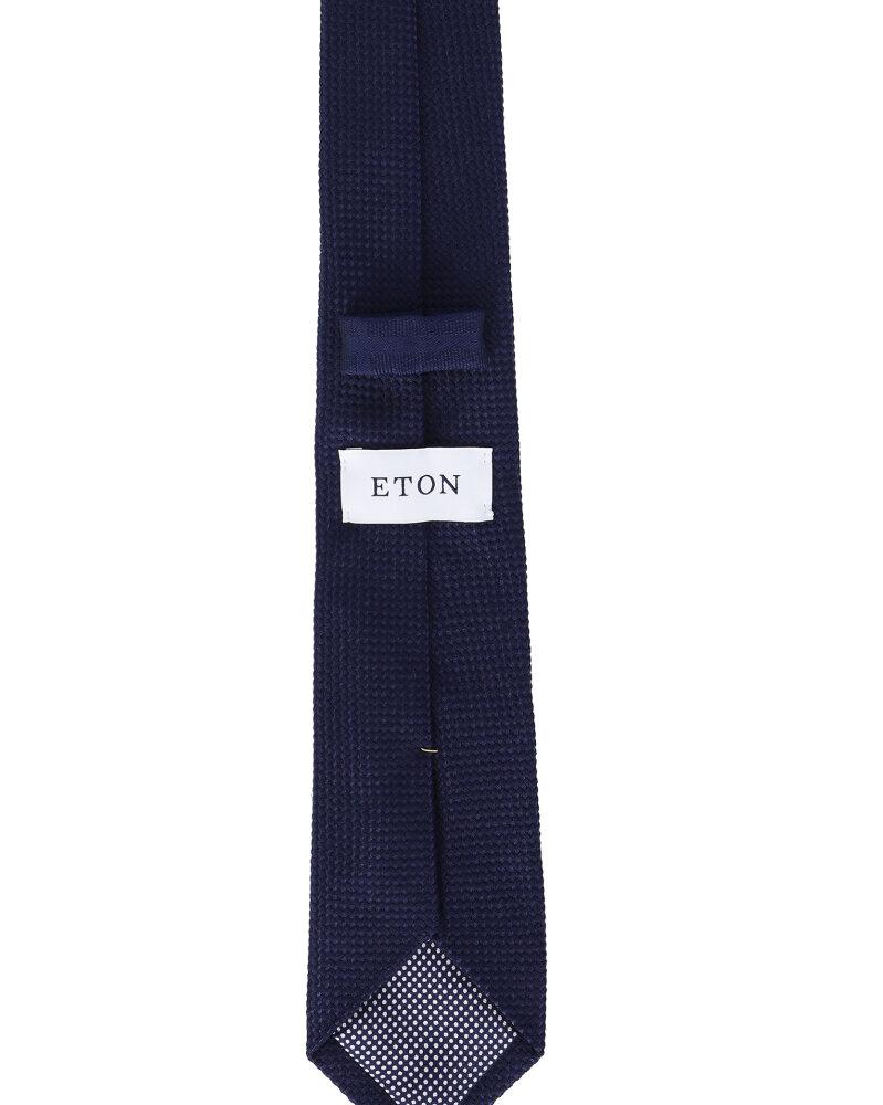 Krawat Eton A000_30781_29 granatowy - fot:2