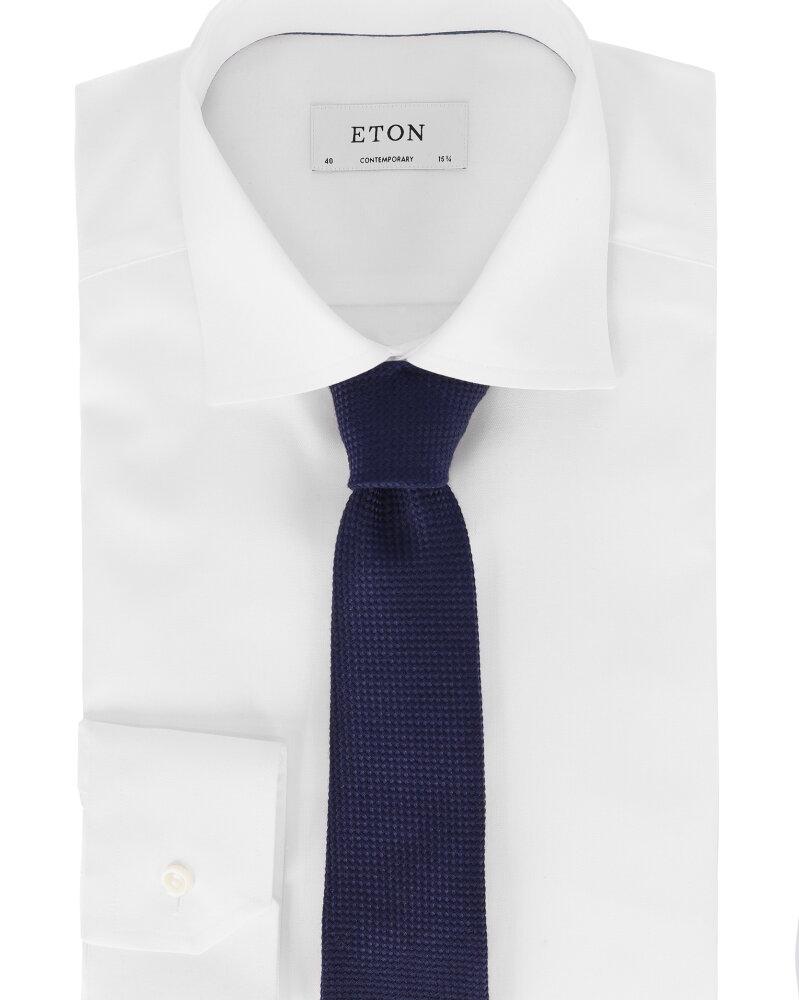 Krawat Eton A000_30781_29 granatowy - fot:3