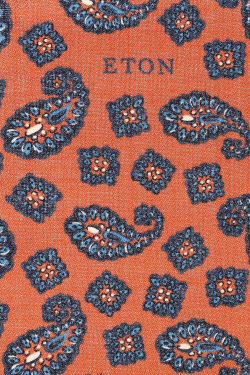 Poszetka Eton A000_30896_45 pomarańczowy