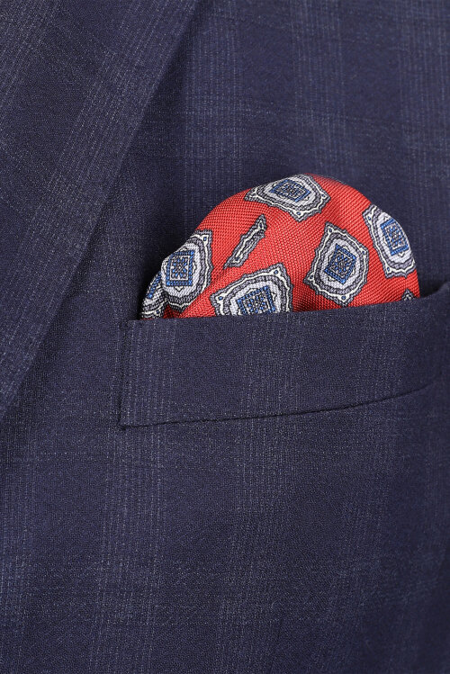 Poszetka Eton A000_31165_59 czerwony