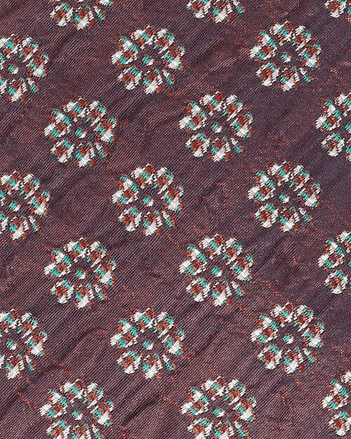 Krawat Eton A000_31473_57 bordowy