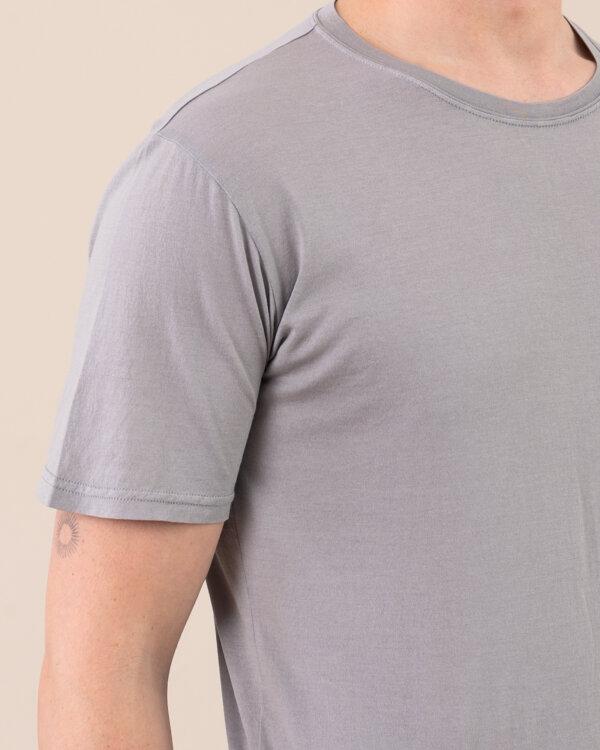 T-Shirt Fedeli 2UE0113_GARY_748 jasnoszary