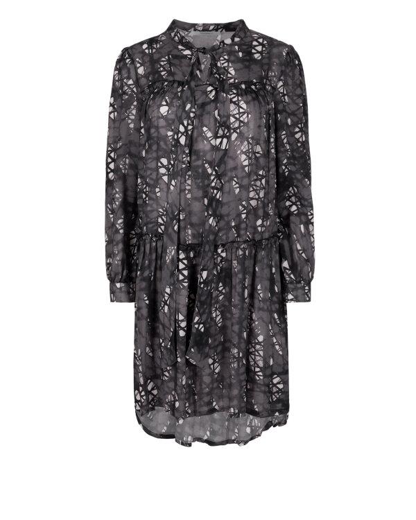 Sukienka Fraternity JZ18_W-DRE-0386_PRINT FANGO szary