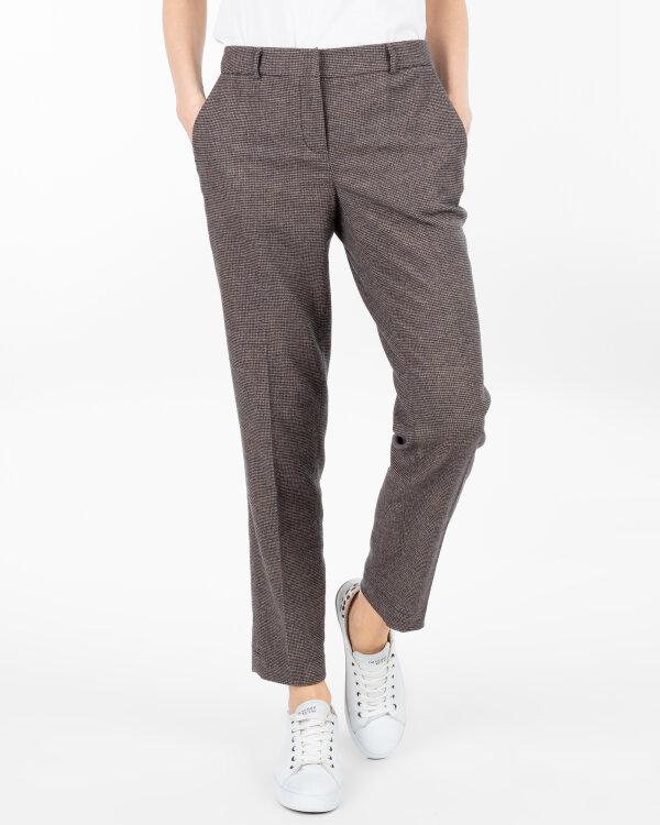 Spodnie Fraternity JZ18_W-TRO-0054_SMALL CHECK beżowy