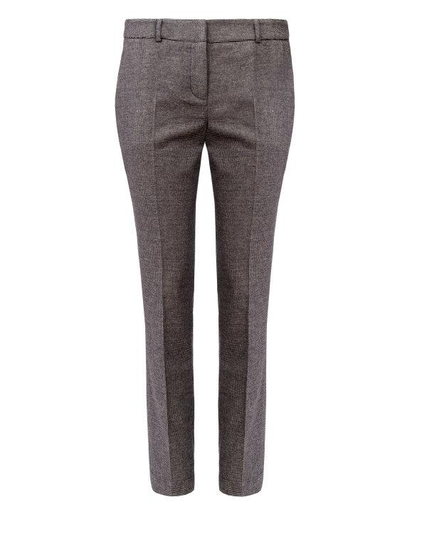 Spodnie Fraternity JZ18_W-TRO-0054_BROWN CHECK brązowy