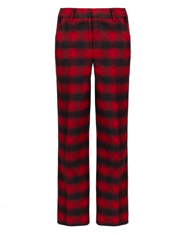Spodnie Fraternity JZ18_W-TRO-0105_RED CHECK czerwony