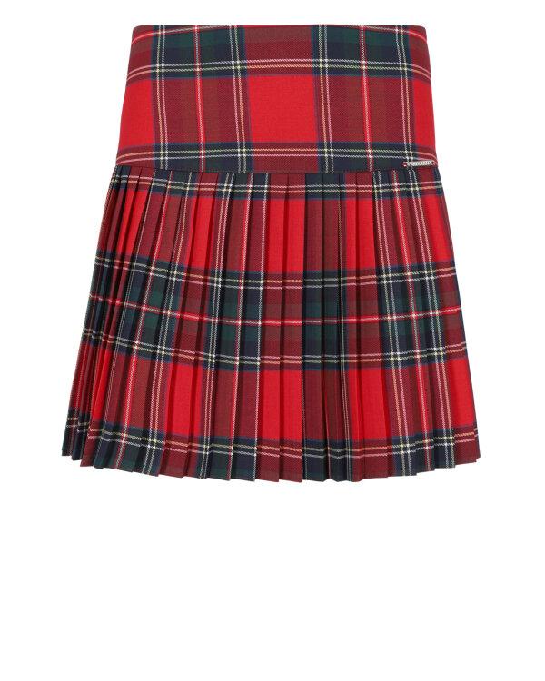 Spódnica Fraternity JZ18_W-SKI-0125_RED CHECK czerwony