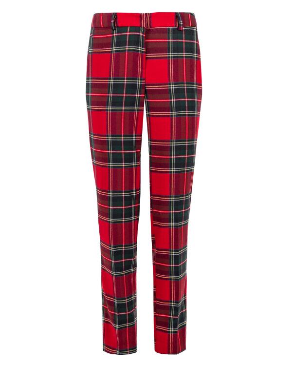 Spodnie Fraternity JZ18_W-TRO-0054_RED CHECK czerwony
