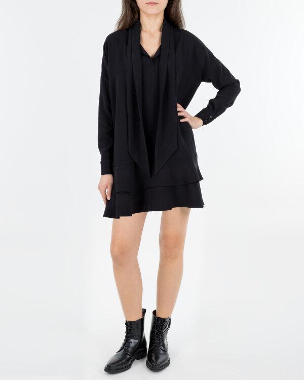 Sukienka Fraternity JZ18_W-DRE-0388_BLACK czarny