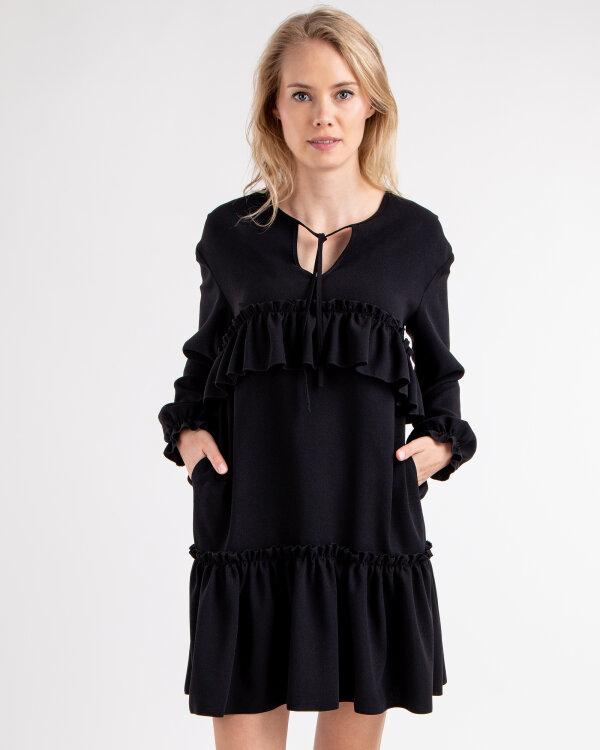 Sukienka Fraternity JZ18_W-DRE-0356_BLACK czarny