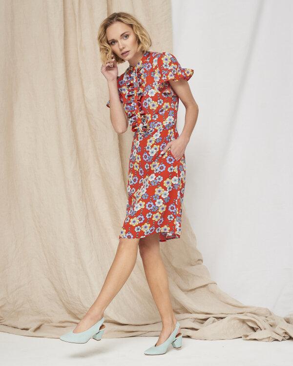 Sukienka Fraternity WL19_W-DRE-0407_SWEET FLOWERS czerwony