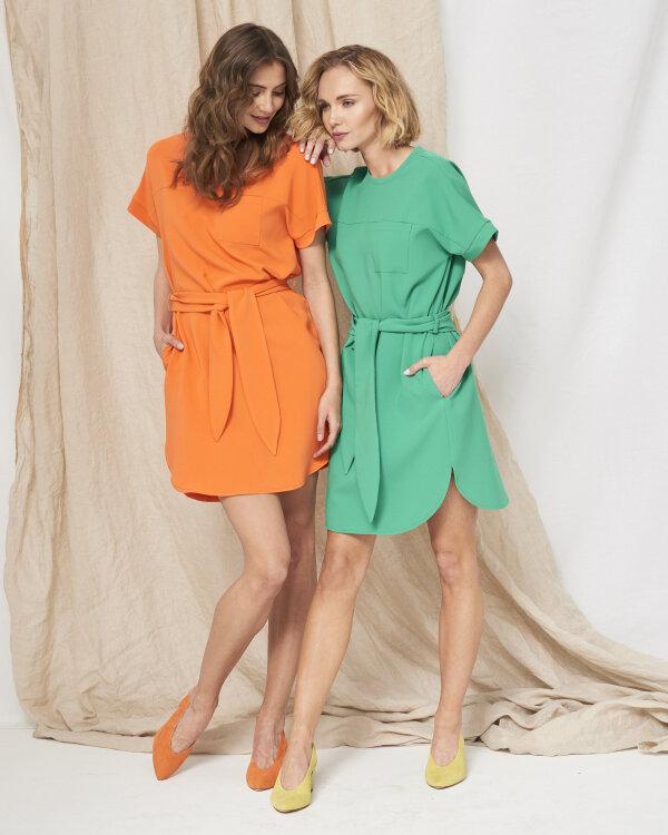 Sukienka Fraternity WL19_W-DRE-0404_ORANGE pomarańczowy