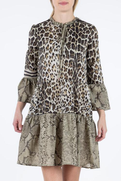Sukienka Fraternity WL19_W-DRE-0400_ANIMAL PRINT wielobarwny