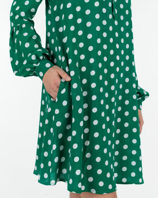 Sukienka Fraternity WL19_W-DRE-0403_WHITE DOTS zielony