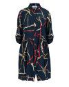 Sukienka Fraternity WL19_W-DRE-0405_CHAINS granatowy