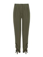Spodnie Fraternity WL19_W-TRO-0143_OLIVE zielony