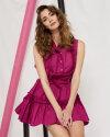 Sukienka Fraternity WL19_W-DRE-0411_AMARANT różowy