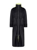 Płaszcz Fraternity WL19_W-COA-0060_BLACK czarny