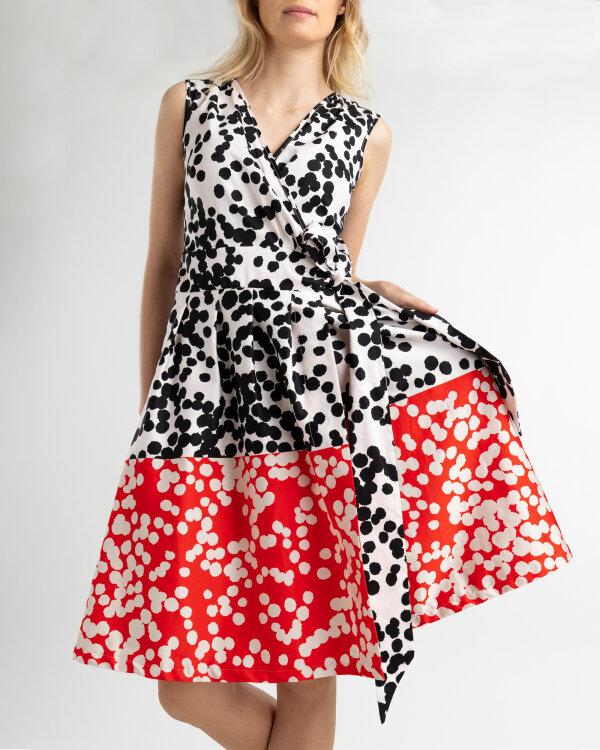 Sukienka Fraternity WL19_W-DRE-0197_BLACK/RED/WHITE wielobarwny