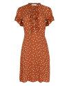 Sukienka Fraternity WL19_W-DRE-0407_CARAMEL brązowy