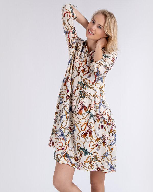 Sukienka Fraternity WL19_W-DRE-0405_COLORED CHAINS kremowy