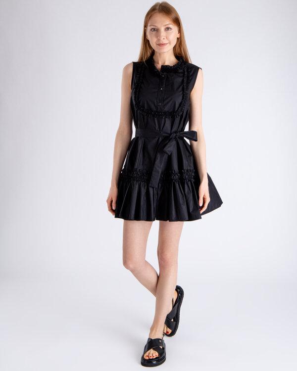 Sukienka Fraternity WL19_W-DRE-0411_BLACK czarny