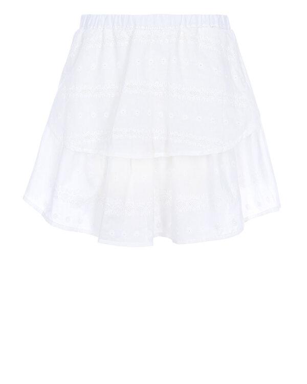 Spódnica Fraternity WL19_W-SKI-0133_WHITE biały