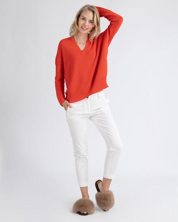 Spodnie Fraternity WL19_W-TRO-0123_OFF WHITE biały
