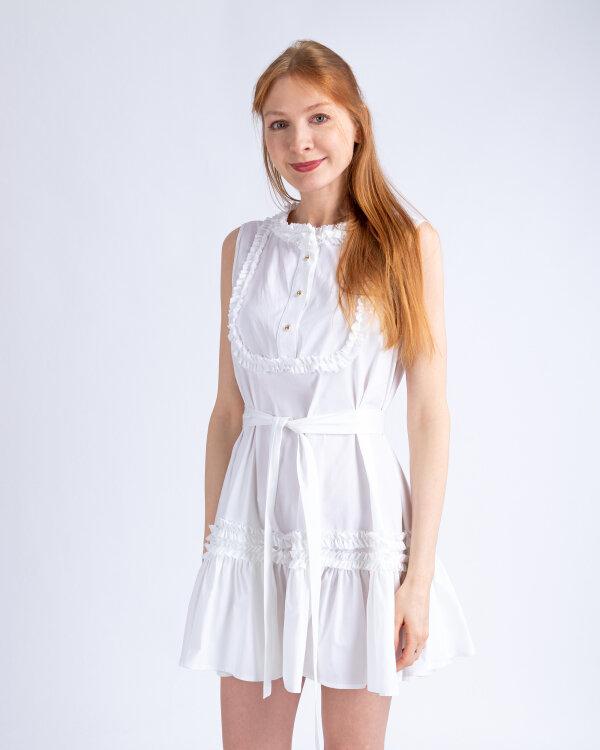 Sukienka Fraternity WL19_W-DRE-0411_WHITE biały