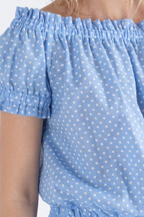 Sukienka Fraternity WL19_W-DRE-0212_BLUE niebieski